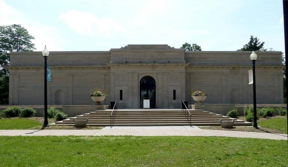 The Heckscher Museum of Art.