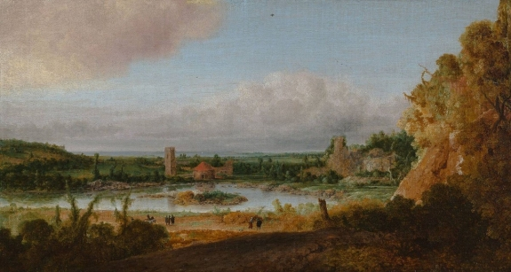 A painting by Hercules Segers.