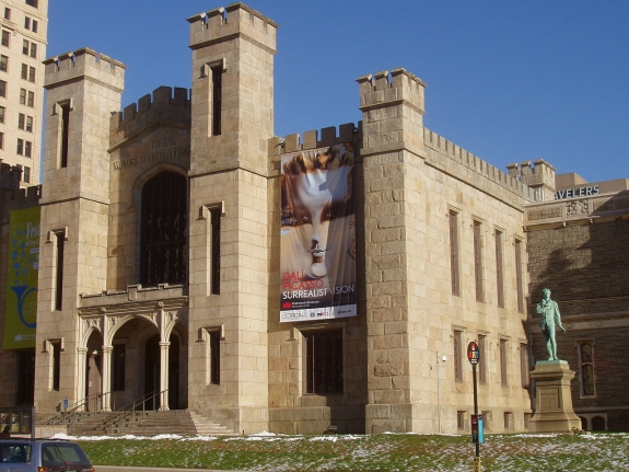 The Wadsworth Atheneum.