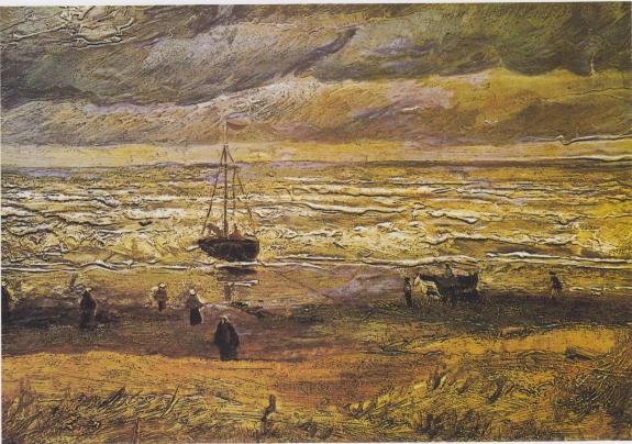 Van Gogh, View of the Sea