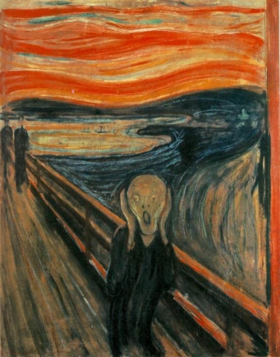 Edvard Munch's 'The Scream.'