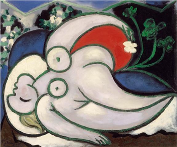 Pablo Picasso Spain/France 1881–1973  Femme couchée (Reclining woman) 1932